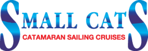 small cats catamaran sailing cruises logo, small cats catamaran sailing cruises home